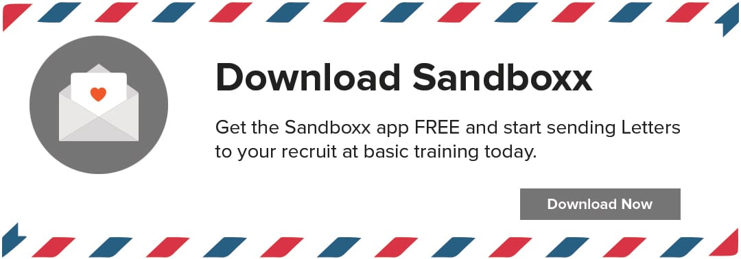 Letters to bootcamp Sandboxx