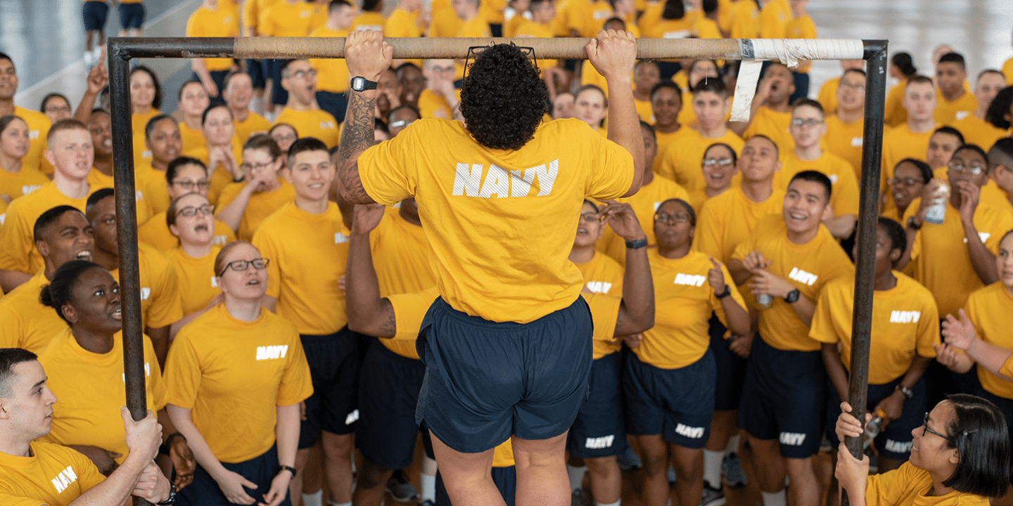 Get in Shape Before Leaving For Navy Boot Camp