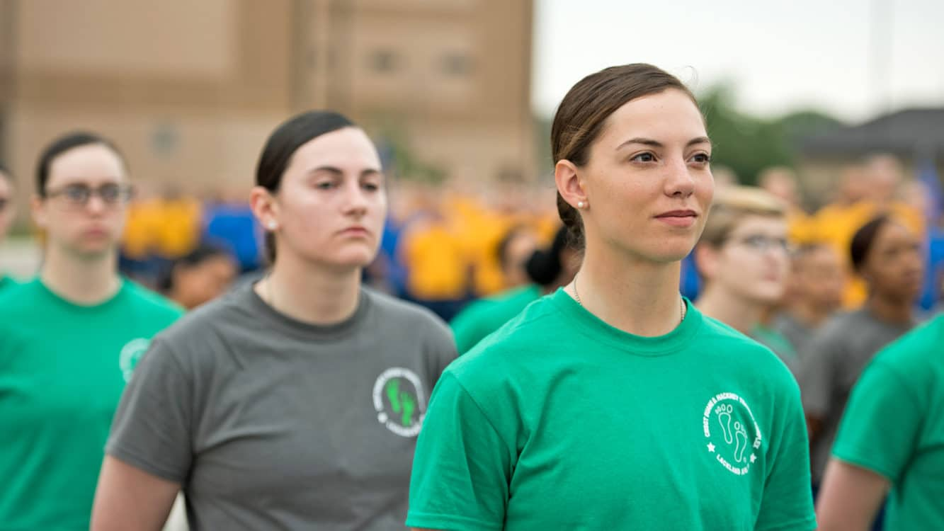 air force pt test female requirements