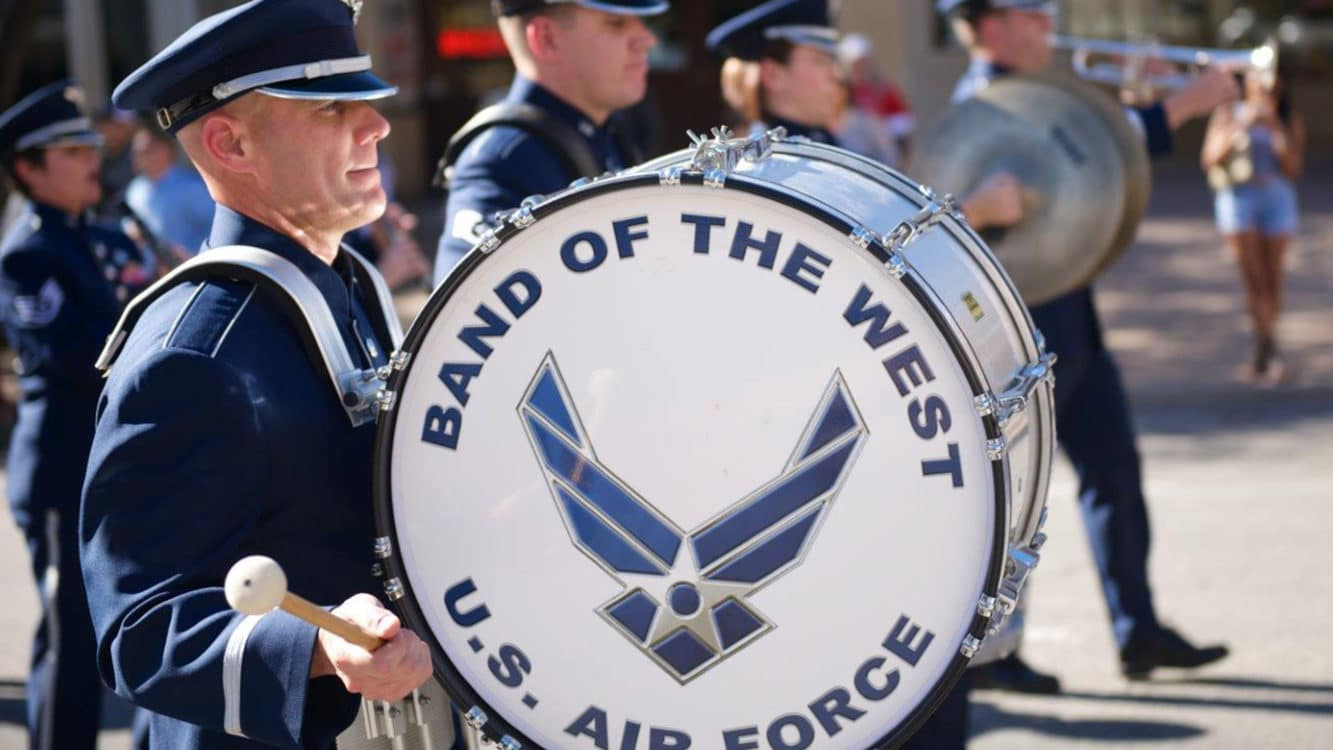 air force job - the band
