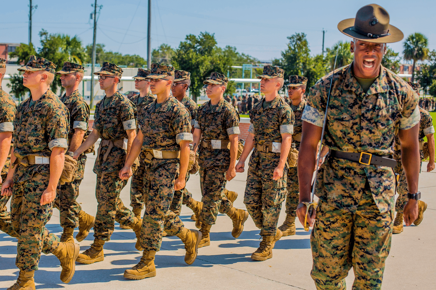 United States Army Base Fort Jackson Roblox Marine Corps Boot Camp At Parris Island Sandboxx