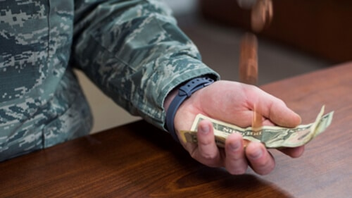 budgeting for military