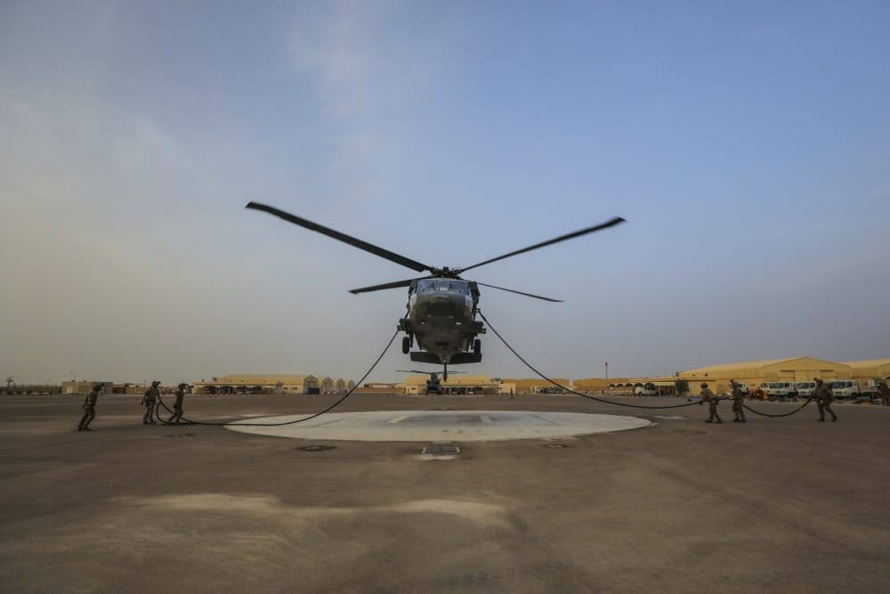 5th Special Forces Group helicopter