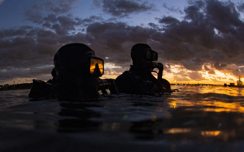 military dive off east coast