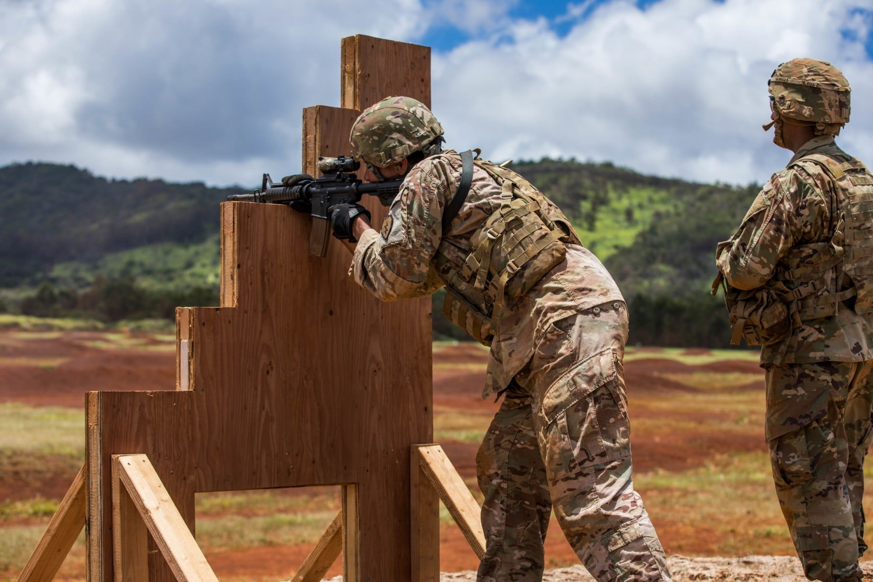 Army rifle qualification